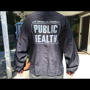 Los Angelos public health windbreaker